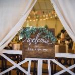 Leaf Garden Cafe(リーフガーデンカフェ):ウェルカムボードや装飾品は、ご自由にお持ち込み下さい♪会場をご新郎ご新婦様好みに飾れます!!