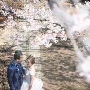 ラ・クラリエール:【満開の桜を見学!】Sakura Wedding フェア