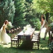 ラ・クラリエール:豪華和牛試食&10周年衣装特典フェア*開放的ガーデンでご案内