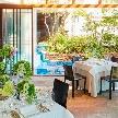 葉山庵 Tokyo:【25名からOK!】緑・水・光のリゾートで叶える少人数お食事会