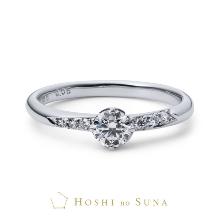 ルイ エ レイ by CASA'DE YOKOYAMA_【星の砂】 アリエル 高い評価基準で厳選された本物の煌めきの婚約指輪