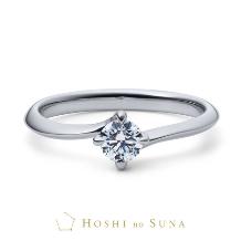 ルイ エ レイ by CASA'DE YOKOYAMA_【星の砂】 イリス 高い評価基準で厳選された本物の煌めきの婚約指輪