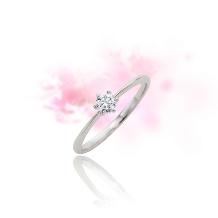 ルイ エ レイ by CASA'DE YOKOYAMA_【エンゲージリング】想いをとじ込めた一粒のダイヤモンド