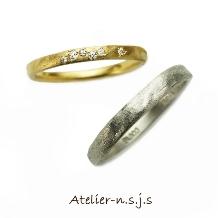 アトリエn.s.j.s (エヌ・エス・ジェイ・エス)の婚約指輪&結婚指輪