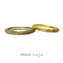 アトリエn.s.j.s (エヌ・エス・ジェイ・エス):◆1本8万円台~◆ 樹木のようにひとつひとつ年輪を刻んでいくがコンセプト