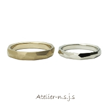 アトリエn.s.j.s (エヌ・エス・ジェイ・エス):◆これなら彼も着けやすい◆飾らない自然なデザイン