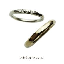 アトリエn.s.j.s (エヌ・エス・ジェイ・エス):キラキラ光る・・あえて表面をいびつに