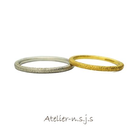 アトリエn.s.j.s (エヌ・エス・ジェイ・エス):◆星空をイメージしたリング◆ 1本8万円~
