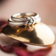 takuho BRIDALRING_~結びデザイン~あなたの結婚指輪にみんなはくぎづけ!『愛の絆』のオーダーメイド★