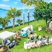 シーサイド平川MASARU:『鹿児島で本格リゾート婚するなら!!』1日1組貸切W×豪華試食