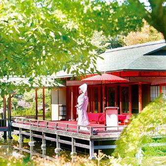 白鳥庭園 THE SHUGEN:【初見学にもオススメ】挙式体験×会場×日本庭園見学フェア★