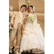ナチュラルイタリアン Hibiki:白のウェディングドレスはやはり人気です。末永くお幸せに!