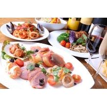 ナチュラルイタリアン Hibiki:ボリューム満点のお料理!ビュッフェやテーブルシェアなどお選びください♪