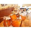 W CAFE 心斎橋(ダブリューカフェ):広々とした空間は、バンド演奏も可能です!