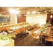 W CAFE 心斎橋(ダブリューカフェ):大人気!2Fのパーティースペースです。