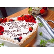 W CAFE 心斎橋(ダブリューカフェ):ご要望があれば、ハートなど様々な形、デコレーションのケーキ製作可能!