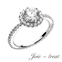 Joie de treat. ジョア ドゥ トリート_【花嫁様人気NO.1】 繊細さが女性ごころをくすぐる上品で華やかなデザイン
