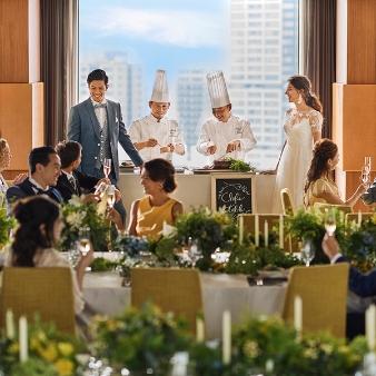 THE LANDMARK SQUARE TOKYO(ザ ランドマークスクエア トーキョー):【ホテル高層階を貸切に】無料試食付*少人数ウエディングフェア