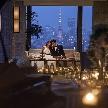 THE LANDMARK SQUARE TOKYO(ザ ランドマークスクエア トーキョー):【東京タワーを一望☆パノラマ絶景体感】挙式体験&スィーツ試食