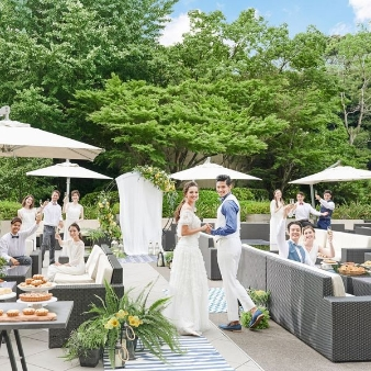 THE LANDMARK SQUARE TOKYO(ザ ランドマークスクエア トーキョー):【スィーツ試食】緑溢れるチャペル挙式&ガーデン演出体験フェア