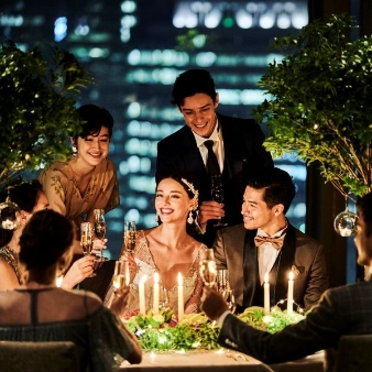 THE LANDMARK SQUARE TOKYO(ザ ランドマークスクエア トーキョー):<夜景を眺めながら>無料試食&ディナー券付*ナイトParty体験