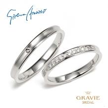 GRAVIE(グラヴィ)_【Sirena Azzurro】シンプルながら指元に光のアクセントを作るDURA