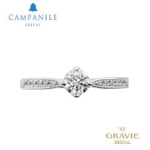 GRAVIE(グラヴィ)_【CAMPANILE_カンパニール】それはティアラの如く煌くリング