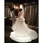 KABTO 名駅:シックな会場☆真っ白なドレスが引き立ちます