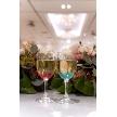 Alice aqua garden 品川:新郎新婦のおふたりのグラスはペアの色違い☆