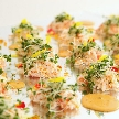 Alice aqua garden 品川:蟹の前菜 和風仕立て