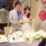 HANA TSUBAKI (花椿):メインキャンドルにご灯火です☆★皆様に、たくさんの笑顔をお願いしますね(^^♪