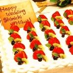 HANA TSUBAKI (花椿):綺麗なケーキ♪人気はやっぱり生クリーム&いちごのショートです!