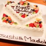 CAFE PARK:可愛いケーキが二人をお出迎え♪