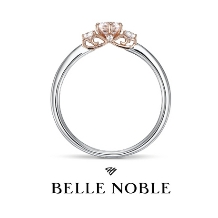 WEDY(ウェディ)_【BELLE NOBLE】側面から見るとティアラのような空間が広がる モンクール