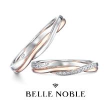 WEDY(ウェディ)_【BELLE NOBLE】つたのように交差しあう絶妙の造形美 アンフュームリル