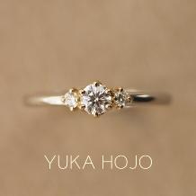 WEDY(ウェディ)_【YUKA HOJO】コンビネーションが美しいデザイン Story
