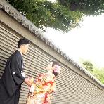 東京装苑(とうきょうそうえん):本格和装+ロケーション撮影。データ・アイテムもついて98,000円