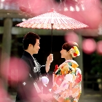 東京装苑(とうきょうそうえん):庭園撮影19,800円 着物・お支度・スタジオ撮影付き