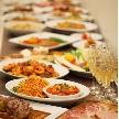 CORONA(コローナ):二次会料理のイメージ。ビュッフェスタイルでわいわい楽しく二次会を!