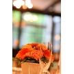 CORONA(コローナ):オプションのテーブル装花はお好きな色目をお選びいただけます。