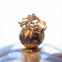 Tezuka jewelry LTD.1970_「永遠」を意味するツタを立体的に表現*。<フルオーダー事例>