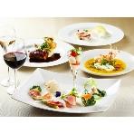青山Plaisir(プレジール):ご披露宴のフルコースを担当するシェフが常駐、2次会のお料理も監修・担当しております!お食事でもゲストに喜んでいただけるパーティを!