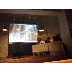 JINNAN CAFE:【JINNAN CAFE】◆プロジェクター100インチスクリーン無料貸出いたします◆
