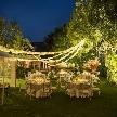 THE SALLY GARDEN (ザ サリィガーデン・旧マグリット ガーデン):【ディナーコース付】話題のナイトウェディングを満喫フェア
