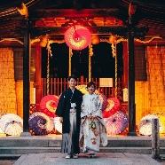 En WEDDING:【先着3組】\本格神社挙式/ココでしかできない灯り和婚フェア