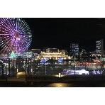 24/7 restaurant:テラスからみなとみらいの夜景を独占!