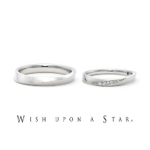 BIJOUX THREEC(ビジュースリーク)_Wish upon a star ミルキーウェイ エンゲージリング