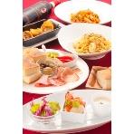 DRAGON BANQUET(ドラゴン バンケット):料理は洋食・和食・韓国などお選びいただけます。