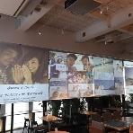 fine diner&salon 7  -NANA-:大人気のパノラマピクチャー!!大型スクリーンでゲスト様へお写真をお披露目!