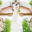 Accueillir 風彩の森迎賓館(アクイール かぜのもりげいひんかん):【デザート付き】ドレス試着&チャペルウォーキング体験フェア